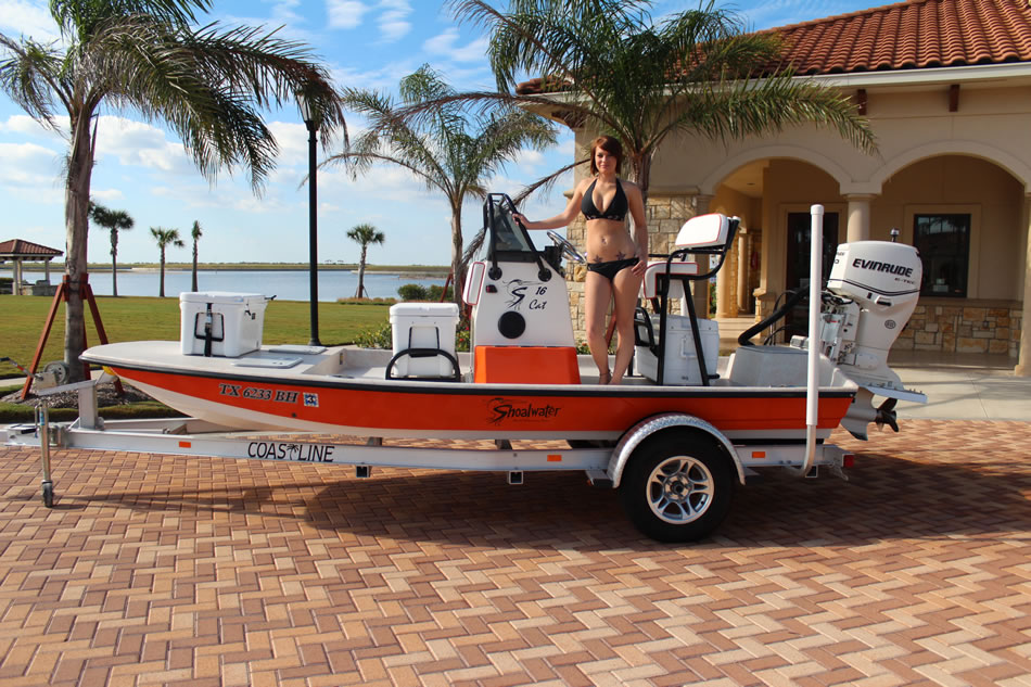 16' Catamaran Fishing Boat