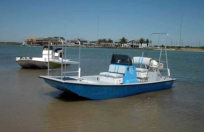 Shoalwater boats 18 foot flat bottom shallow fishing boat for Flat bottom fishing boats