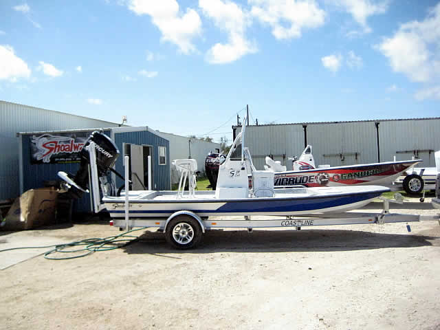 Shoalwater Boats 19 Foot Catamaran Shallow Fishing Boat