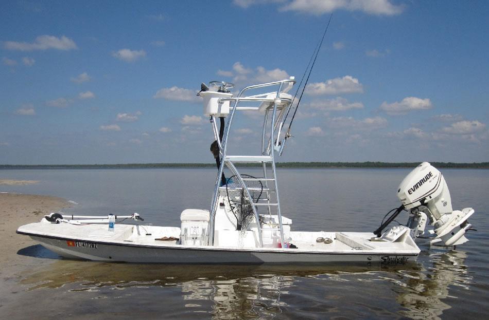 Shoalwater Boats 19 Foot Catamaran Shallow Fishing Boat