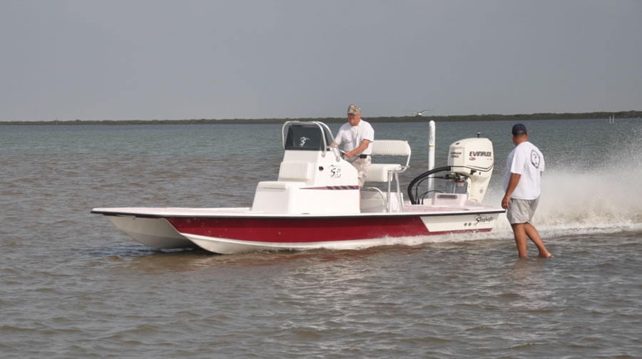21' Catamaran Fishing Boat