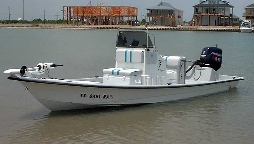 Fishing boat hull types