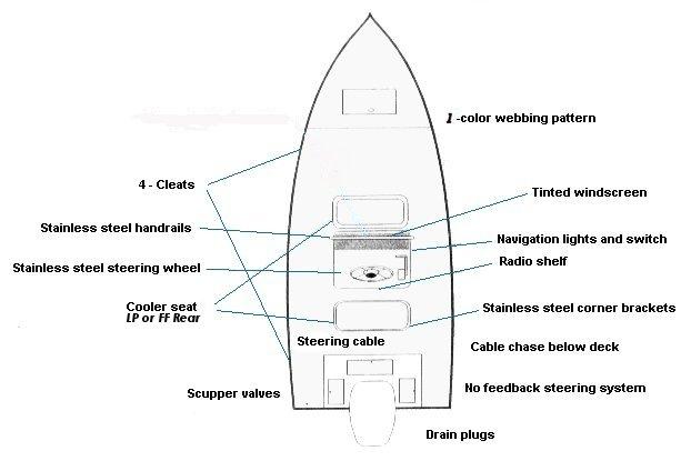 Shoalwater Boats - 22 Foot V Hull Fishing Boat