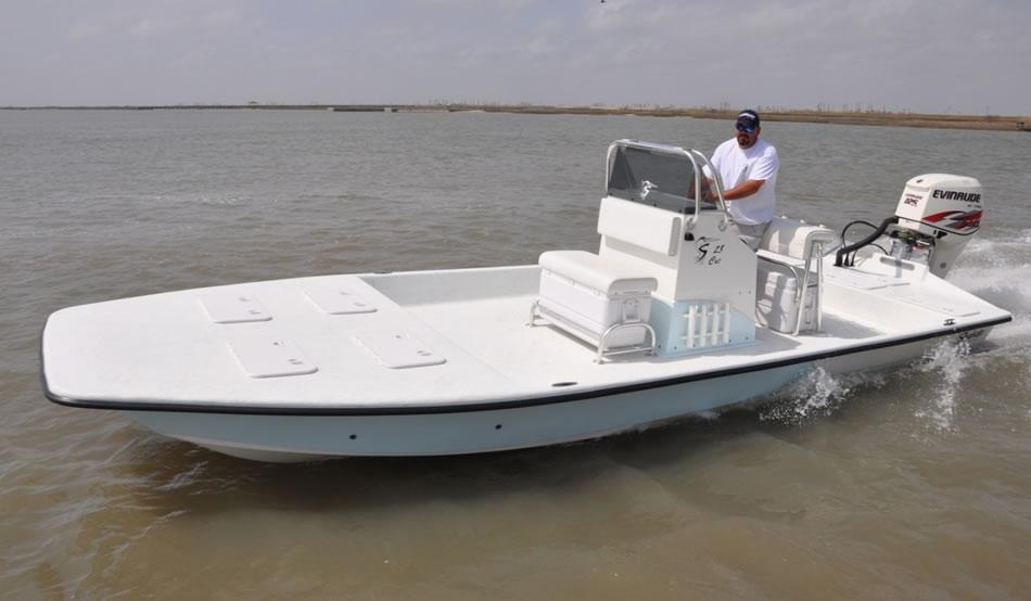 Shoalwater Boats 23 Foot Catamaran Shallow Fishing Boat